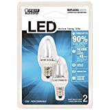 Feit Electric BPC7/LED C7 LED Night Light Bulb Review and Comparison