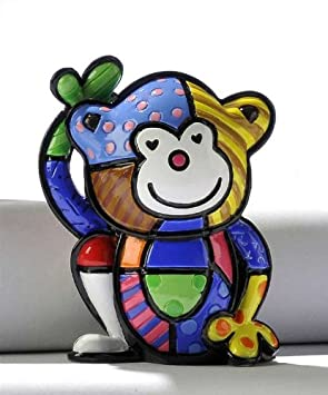 Romero Britto Mini Monkey Cheeky by Giftcraft
