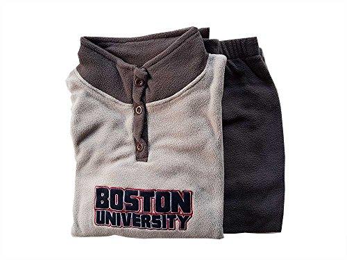 Taglia Modello Colore Pile Om Extra Dolce Boston Large Pigiama Pezzi 2 Uomo Casa Grigio Tuta Xxl tortora nn8qgOC
