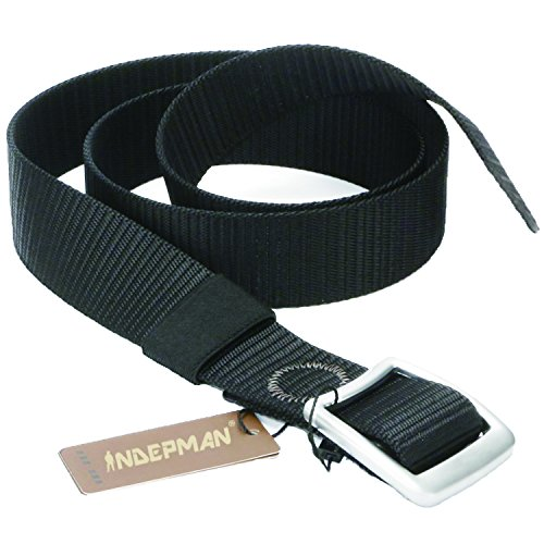 INDEPMAN Tactical Nylon Web Belt Military for Men with 1.5 inch Webbing Belt for Concealed Carry EDC Holsters Pouches Security Heavy Duty Wilderness