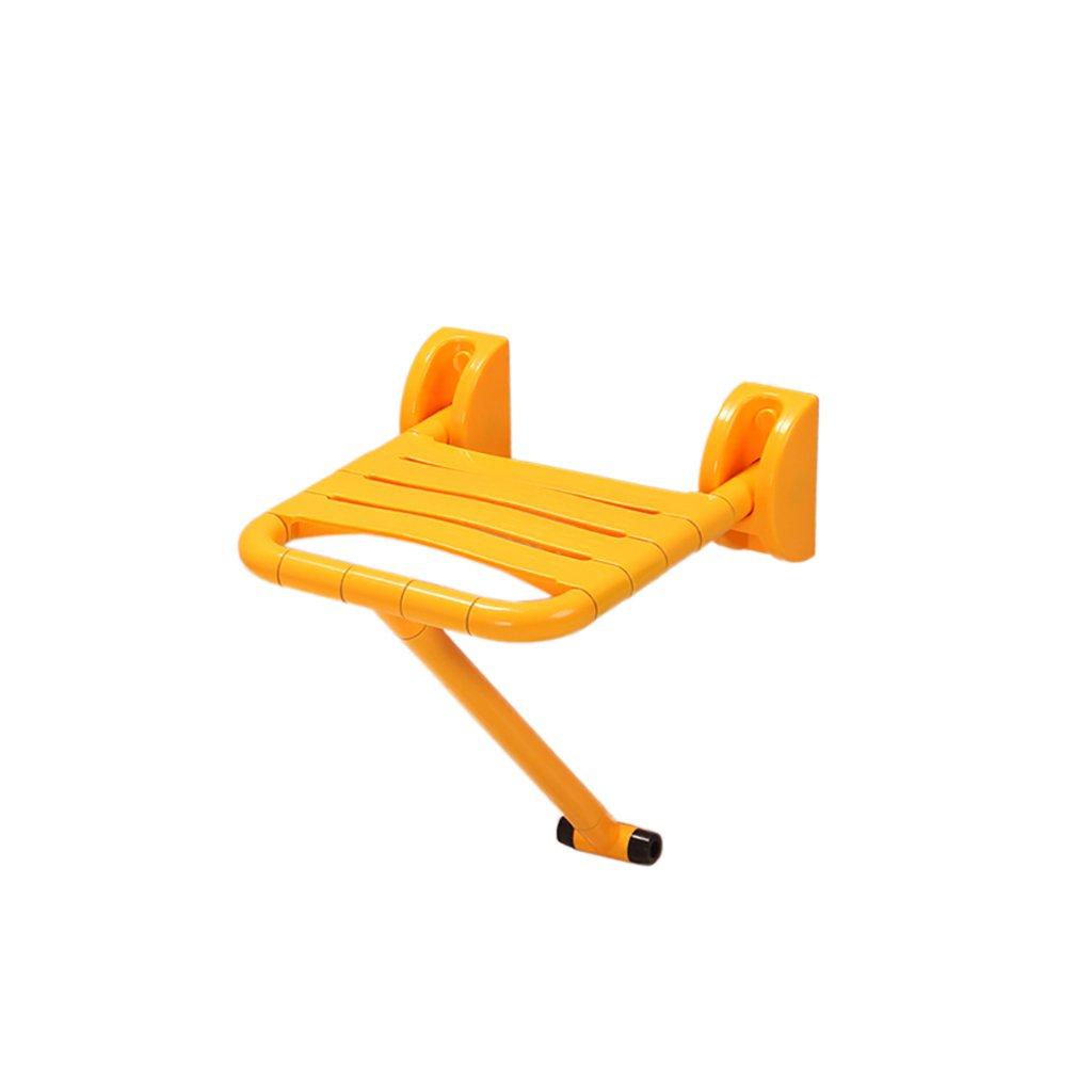 バスルームのスツールステンレス鋼の折りたたみ壁の椅子壁のベンチの座席シャワーのスツールエントランス、通路の靴ベンチウォールマウントされた椅子 (色 : 1) B07DYK5494  1
