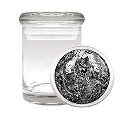 Ouija Board D10 Medical Glass Jar 3