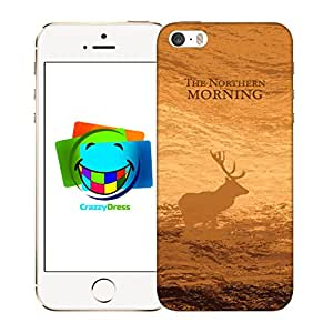 BRALEXX 9211 # _ iPhone _ 5 _ 5S _ Deer _ 4 - Carcasa para Apple iPhone 5/5s