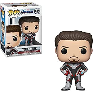 Iron Man: Avengers - Endgame x Funko POP! Marvel Vinyl Figure & 1 POP! Compatible PET Plastic Graphical Protector Bundle [#449 / 36660 - B]