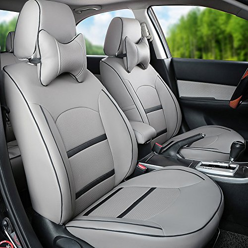Customize Fit Leatherette Car Seat Cover Sets For Toyota Corolla FJ Cruiser Prius Venza Land Prado RAV4 86 Camry Leather Look Automotive
