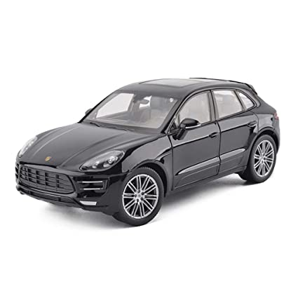 Welly Porsche Macan Turbo Noire 1//24