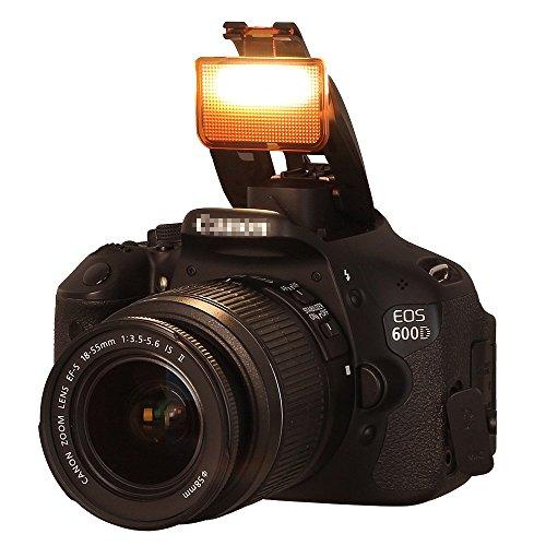 Meyin MB-20 DSLR Flash Diffuser 3 Colors Hot Shoe Diffuser On Camera Soft Pop Up Flashs Diffuser Universal for DSLR Camera XT XTi XS XSi T1i T2i T3 T3i 350D D60 650D 600D 550D (White, Blue, Orange)