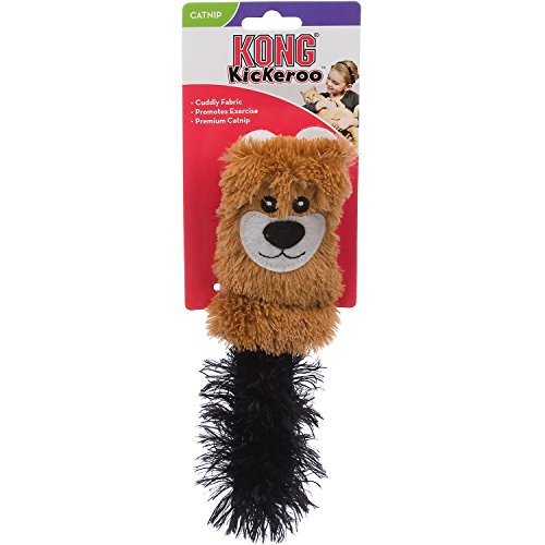 KONG Cat Cozie Kickeroo Catnip Toy, Pack of 1 51tkv FyQNL