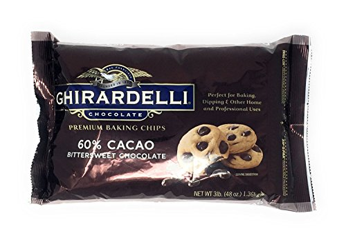 - Ghirardelli Chocolate Bittersweet Baking Chips, 3 Pound