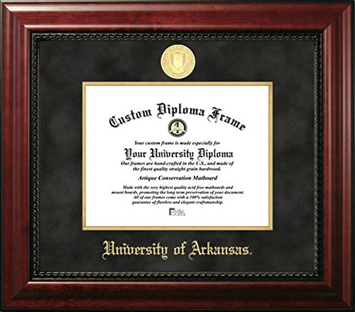 (University of Arkansas Official Diploma Frame (8.5 X 11))