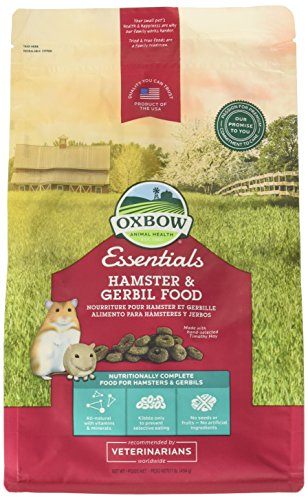 Oxbow Animal Health Hamster And Gerbil Fortified Food, 1-Pound