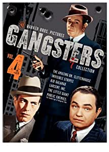 Warner Gangsters Collection, Vol. 4 (The Amazing Dr. Clitterhouse / Invisible Stripes / Kid Galahad / Larceny, Inc. / The Little Giant / Public Enemies: The Golden Age of the Gangster Film)