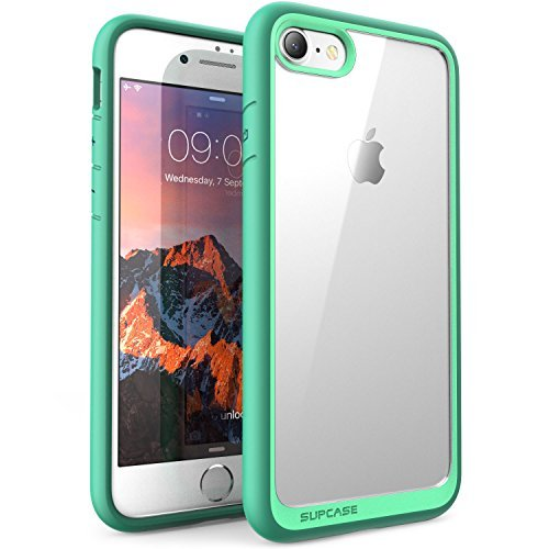 5d65f81edf Amazon.com: iPhone 7 Case, iPhone 8 Case, SUPCASE Unicorn Beetle Style  Premium Hybrid Protective Clear Case for Apple iPhone 7 2016 / iPhone 8  2017 (Green): ...