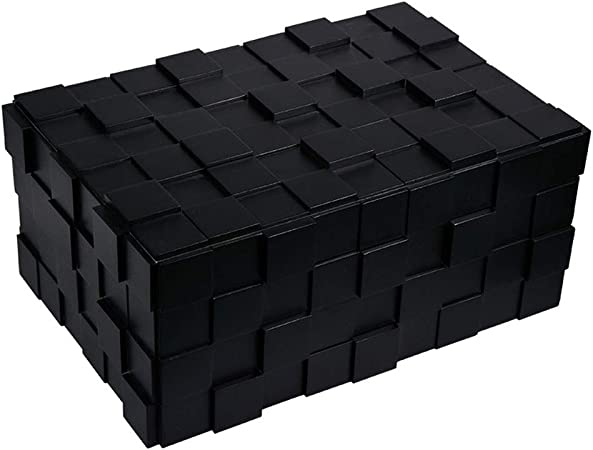 Zhongxingenggeng Caja de cigarros Negra for Piano Caja de Puros hidratante Caja de humectación for cigarros con Sellado Profesional Incubadora de cigarros de Madera sólida: Amazon.es: Hogar