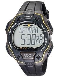 Timex Men's T5K4949J Ironman Traditional 50-Lap Black Resin Strap Watch