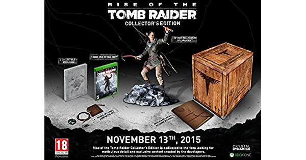 Rise of the Tomb Raider Collectors Edition (Xbox One) by Crystal ...
