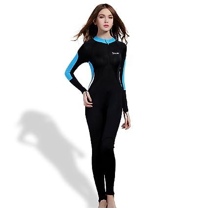 OXA Ultradelgada Traje de Buceo Hecho de Licra Traje de Cuerpo Completo para Buceo, Snorkel y nado para Dama