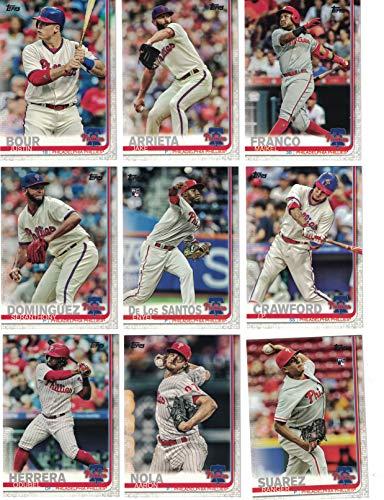 - Philadelphia Phillies/Complete 2019 Topps Series 1 Baseball Team Set! (13 Cards) Includes 25 bonus Phillies Cards!