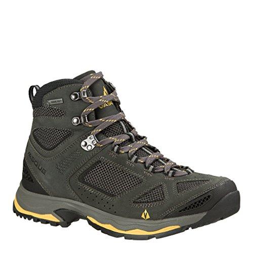 Vasque Men's Breeze III GTX Waterproof Hiking Boots (Magent/Yellow, 10.5 M US)