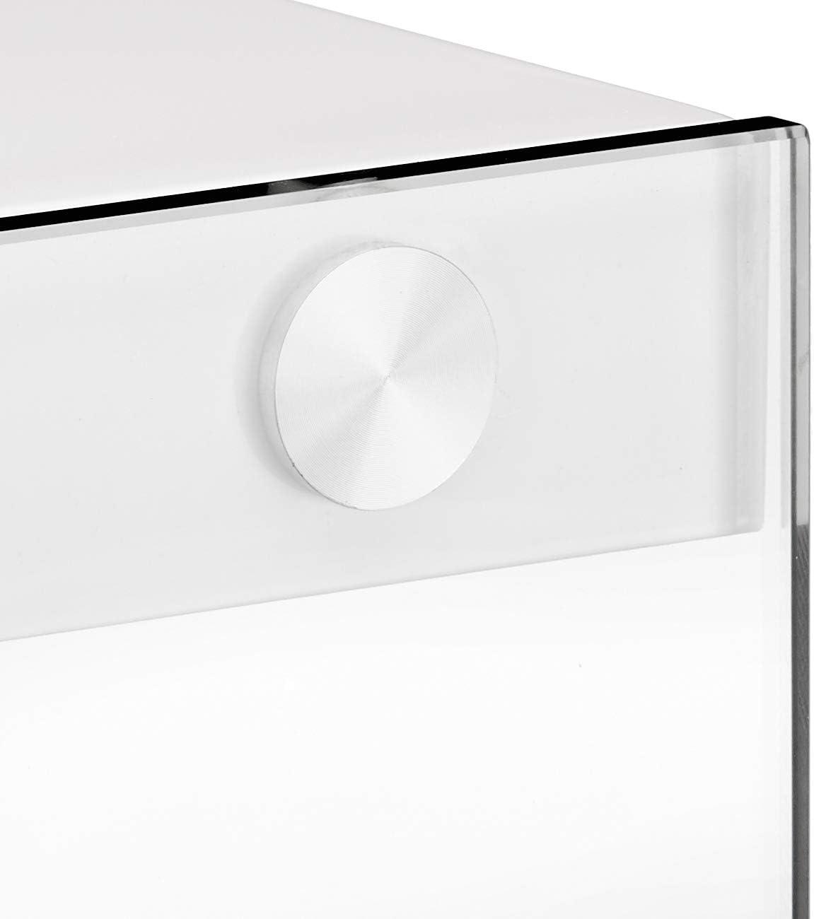 Haku M/öbel 87396 Consola 40 x 40 x 74 cm blanco
