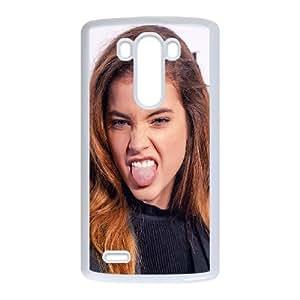 LG G3 Cell Phone Case White Barbara Palvin Smile Sexy Star Model OJ650676