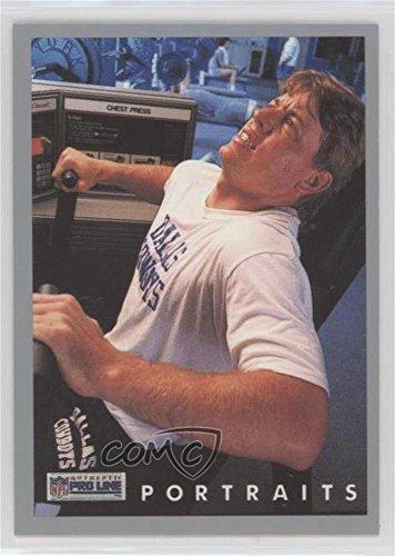 Troy Aikman (Football Card) 1991 Pro Line Portraits - Samples - Portrait Sample