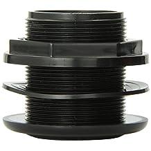 Lifegard Aquatics R172334 1-1/2-Inch Standard Threaded Bulkhead