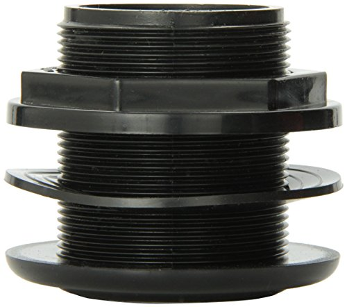 Lifegard Aquatics 1-1/2-Inch Standard Threaded Bulkhead