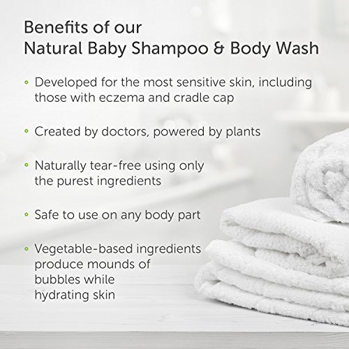 Puracy Natural Baby Shampoo & Body Wash, Tear-Free Soap, Sulfate-Free, 16 Ounce, (Pack of 2) by Puracy (Image #6)