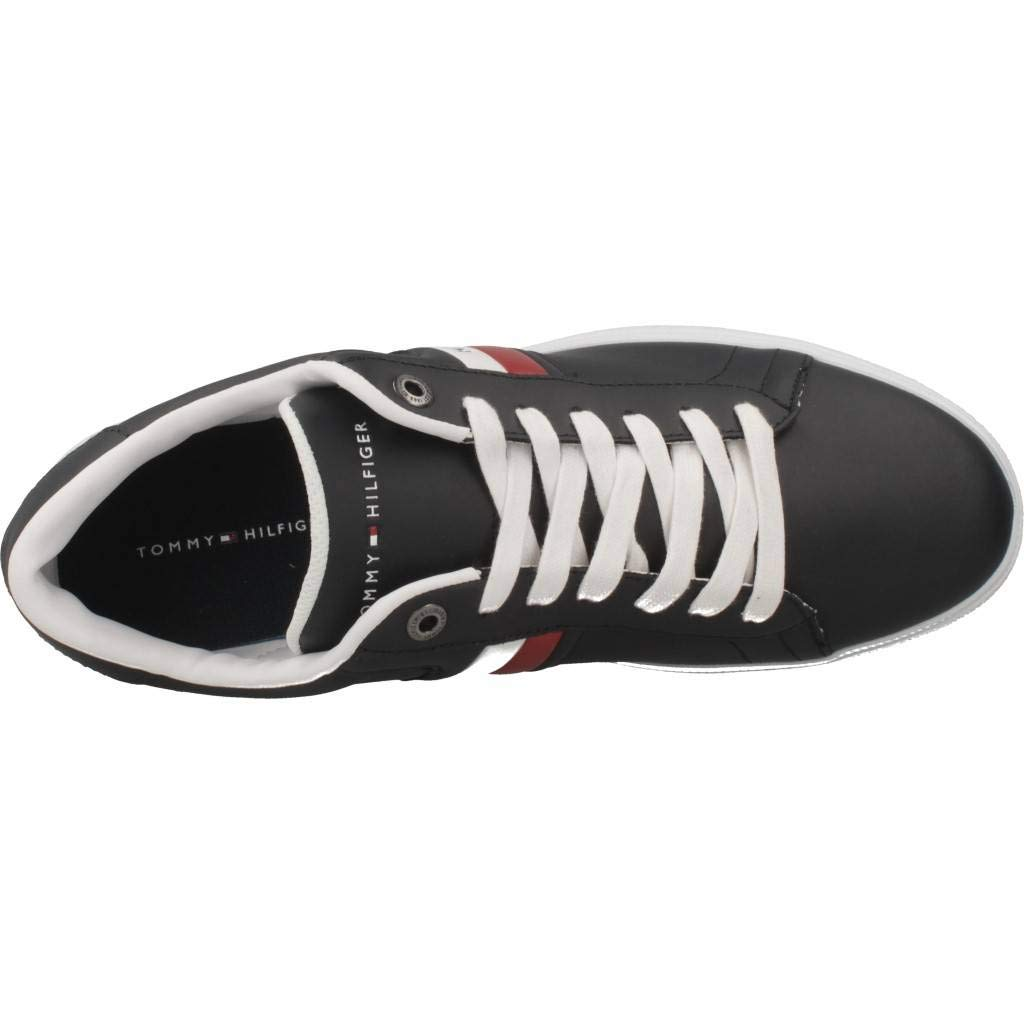 Amazon.com | Tommy Hilfiger Corporate Mens Sneakers Blue | Fashion Sneakers