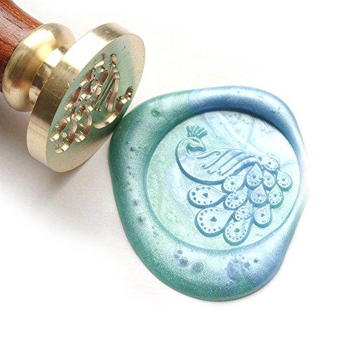 UNIQOOO Arts & Crafts Peacock Wax Seal S
