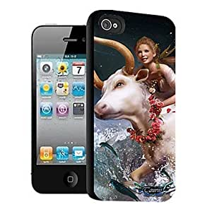 GJY Woman Pattern 3D Effect Case for iPhone5