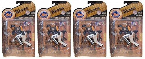 4ct Lot Jose Reyes New York Mets McFarlane MLB Series 25 Figure