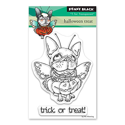 Penny Black Halloween Cards (Penny Black 30-494 Clear Stamp)
