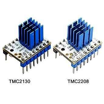 Impresora 3D TMC 2130/2208 módulo de motor paso a paso + disipador ...