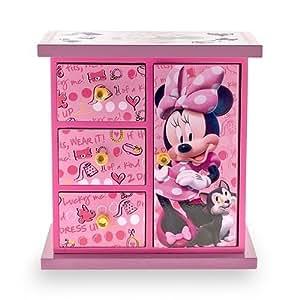 Amazon.com: Minnie Mouse Armoire Jewelry Box: Home & Kitchen
