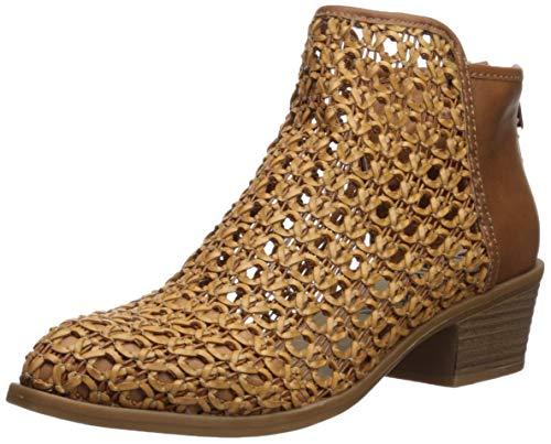 DV by Dolce Vita Women's Koda Ankle Boot, Cognac Stella, 8 M US