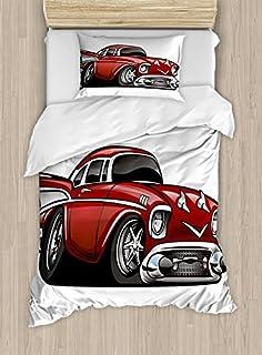 Amazon Com Bekata Classic Vintage Car 100 Cotton Kids Cars
