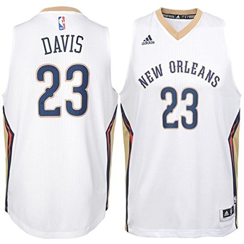 Anthony Davis New Orleans Pelicans #23 Youth Swingman Home Jersey (Yth Small 8)
