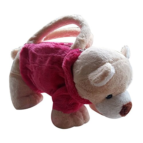 3D Dog Bags Kid Toys Handbag (Hot pink beige - Shop Sale Nsw For