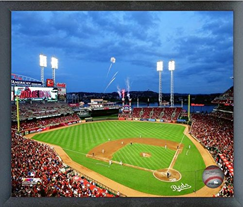 Cincinnati Reds Great American Ballpark 2015 MLB Stadium Photo (Size: 12