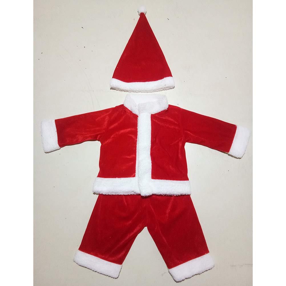 BESTOYARD Baby Boy Traje de Navidad Santa Claus niño niño Disfraz Traje de  Navidad con Sombrero Rojo  Amazon.es  Ropa y accesorios 1d9c99f8d20