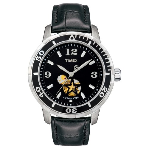 Timex T2M509 Automatic Leather StrapWatch product image