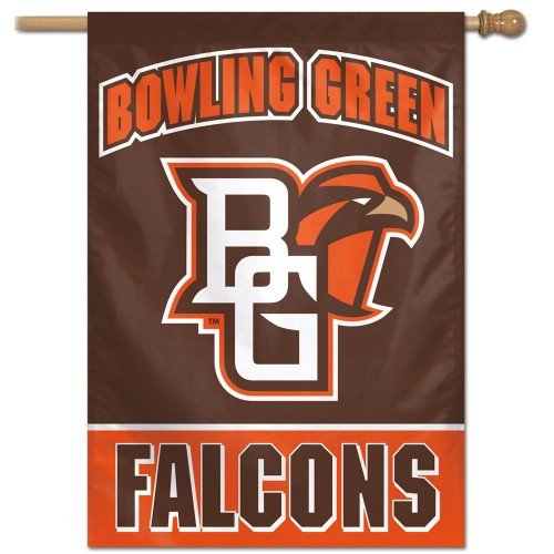WinCraft NCAA Bowling Green State University Vertical Flag, 27
