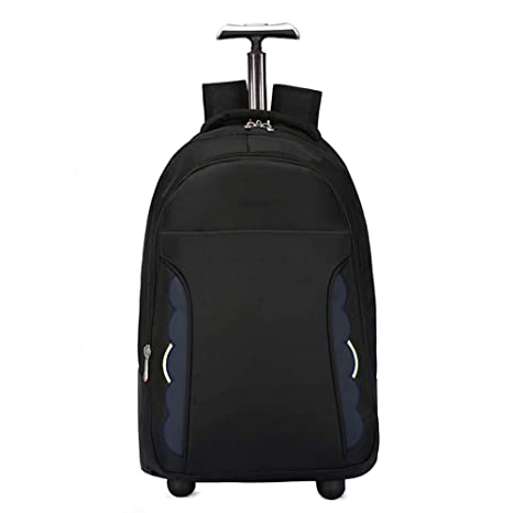 1e51c4491b DYYTR Trolley Backpack Zaino con Ruote ruotato Business Bag Campus Scuola  Zaino Bagaglio Portatile Bagaglio Samsonite