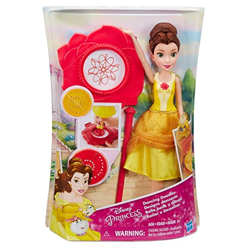 Hasbro HSBB9151 Disney Princess Dancing Doodle Belle44; Pack of 4 by Hasbro