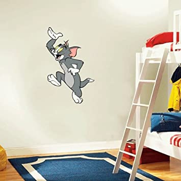 Superior Tom And Jerry Cartoon Wall Decal Sticker 16u0026quot ... Part 7