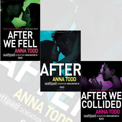 Anna Todd After Series Collection 3 Books Bundle (After: 1, After We