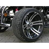 Felge vorne 6x14 poliert Chrom Jinling 250cc JLA-21B RS14 Quad Rennquad Racing