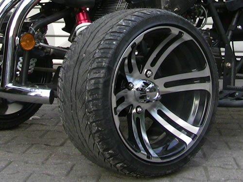 Felge vorne 6x14 poliert Chrom Jinling 250cc JLA-21B RS14 Quad Rennquad Racing Nitro Motors